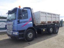 DAF 75-310 6x2 Midlift Hookload