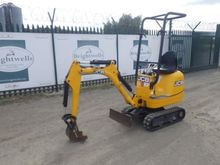 JCB 8008CTS Micro Excavator (12