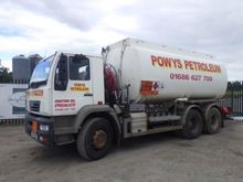 ERF 6X4 Fuel Tanker Lorry, CX54