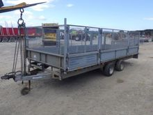 Ifor Wiliams LM187 Flat Bed Tra