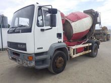 DAF 55.180 Cement Mixer Lorry,