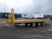 Tri Axle Tilt Bed Drag Trailer