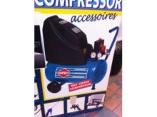 AIRPRESS compressor with access