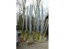 2000 Steel poles with concrete