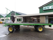 Farm trailer 4 wheel 6 m long