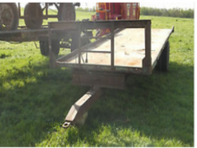 Used Bale Trailer 20