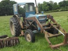 Ford 4000 with ARPS half trac s