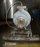 Pump, Centrif., 1.5 HP, C/st Fr