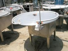 "Table, Turntable, 48"" Dia, S/st"
