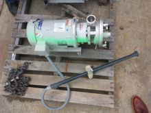 "Pump, Centrif., 5 HP, 2"" In/Out"