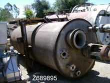 Tank, 2,000 Gallon, S/st, 5' X