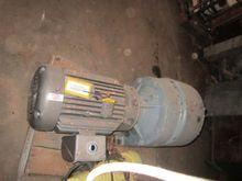 Motor, 30 HP, Baldor, Gearhead,