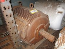 Used Motor, 100 HP,