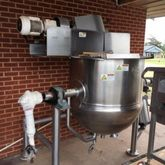 Kettle, 100 Gallon, S/st, Jkt,