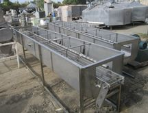 """Washer, Tray, 10"""" x 43', S/st,"""