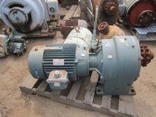Motor, 30 HP, Reliance, Gearhea