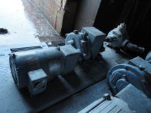 Pump, Gear, 1.5 HP, C/st & Bron