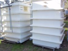 Tank, 1,600 Gallon, FRP, 5.5' X