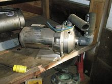 Pump, Centrif., 1.4 HP, S/st, 2