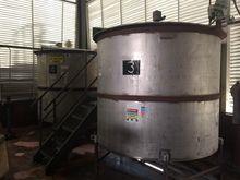 Tank, 1,750 Gallon, S/st, Agit,