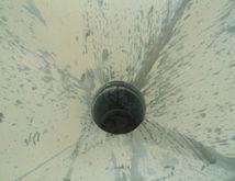 Hopper, 40 CF, S/st, 2' X 2' X