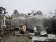 Tank, 4,000 Gallon, S/st, Jkt,