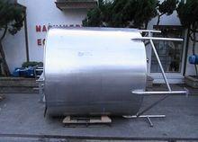 Tank, 1,000 Gallon, S/st, Jkt,