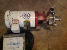 Pump, Centrif., 2 HP, Fristam,