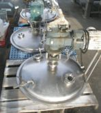 Mixer, Agitator, 3 HP, S/st, Do