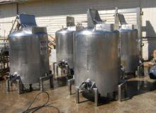 Tank, 300 Gallon, S/st, Agit, 4
