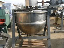 Kettle, 200 Gallon, S/st, Jkt,