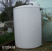 Tank, 1,600 Gallon, FRP, 6' X 8