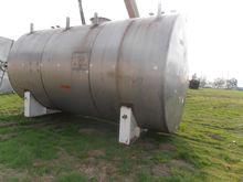 Tank, 10,000 Gallon, 304 S/st,