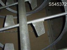 Mixer, Ribbon, 36 CF, S/st, Rib