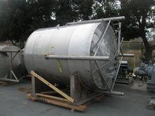 Tank, 2, 500 Gallon, S/st, Jkt,