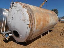 Tank, 6, 000 Gallon, S/st, Agit