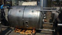 """Tank, 550 Gallon, S/st, 52"""" X 6"""