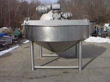 Kettle, 400 Gallon, S/st, Dbl A
