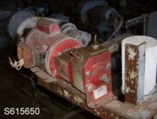 Pump, Gear, 1/4 HP, Plastic, Va