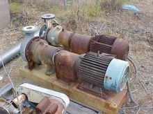 "Pump, Centrif., 15 HP, S/st, 4"""