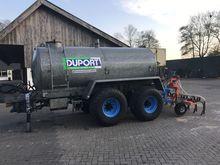 Duport 8000 liter tandem