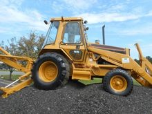 1989 Caterpillar 416 Rigid Back