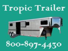 2017 Bee Trailers 4 Horse Goose