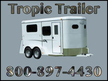 2017 Bee Trailers Bee 2-Horse T