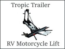 2017 Cruiser Lift RV Motorcycle