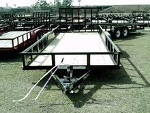 7000 lbs 20 foot pipe trailer w