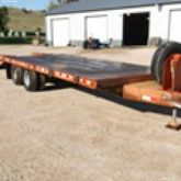 Pintle Hitch equipment trailer