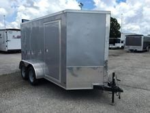2016 Covered Wagon Trailers Tan