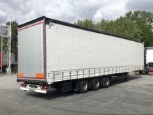 Used Flatbed Semi Trailers And Tarpaulins for sale  Schmitz