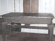 Used CAST IRON TABLE